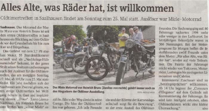 Artikel Westfalenpost
